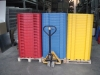 Plastic fences of 1 meter colors
